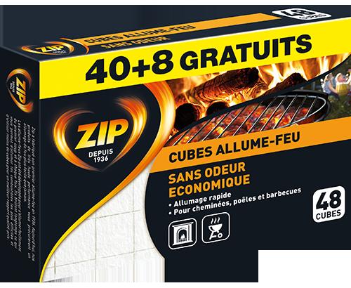 Cubes Allume-Feu Sans Odeur (Bloc)