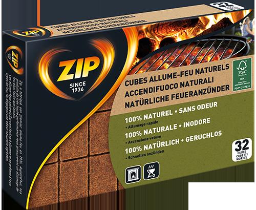 Cubes Allume-Feu Naturels (bloc)